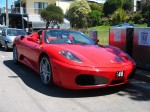 Right   Exotics on Victoria's Surf Coast: Ferrari F430 Spider - front right 3 (Lorne, Vic, 10 Nov 07)