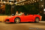 Feb   Exotic Spotting in Melbourne: Ferrari F430 Spider - profile left 1 (Crown Casino, Victoria, 27 Feb 09)