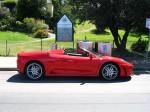 Ferrari   Exotics on Victoria's Surf Coast: Ferrari F430 Spider - profile right (Lorne, Vic, 10 Nov 07)