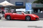 F430   Exotics on Victoria's Surf Coast: Ferrari F430 Spider - profile right (Lorne, Vic, 24 Jan 08)