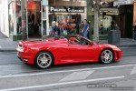 Ferrari   Exotic Spotting in Melbourne: Ferrari F430 Spider - profile right (South Yarra, Vic)