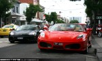 Exotic Spotting in Melbourne: Ferrari F430 Spider and 360 Modena - front 2 (South Yarra, Vic, 14 Nov 09)