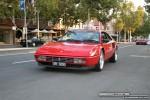 Car   Exotic Spotting in Melbourne: Ferrari Mondial T - front left 1 (Lygon St, Carlton, Vic, 16 March 08)