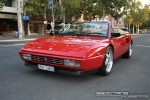 Ferrari mondial Australia Exotic Spotting in Melbourne: Ferrari Mondial T - front left 2 (Lygon St, Carlton, Vic, 16 March 08)
