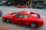 And   Exotic Spotting in Melbourne: Ferrari Testarossa and 512M - profile (Healesville, Vic, 29 Aug 2010)