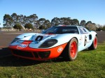 Gt40   Dutton Rally 2007 - Sandown, Victoria: Ford GT40 [UK GTD40 replica] - front left 1 (Dutton Rally 07, Sandown, Vic, 2 Sept 07)