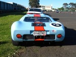 Rally   Dutton Rally 2007 - Sandown, Victoria: Ford GT40 [UK GTD40 replica] - rear (Dutton Rally 07, Sandown, Vic, 2 Sept 07)