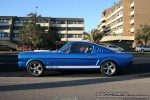 Mustang   Exotic Spotting in Melbourne: Ford Shelby Mustang GT350 [1965] - profile left 1 (South Yarra, Vic)