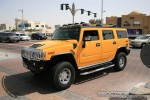 Right   Exotics in Dubai: Hummer H2 - B front right 3 (yellow)