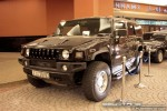 Black   Exotics in Dubai: Hummer H2 - C front right (black)