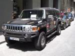 Italy   Exotic Spotting in Europe: Hummer H2 - front left - Dustball 4000 Rally (Piazza Republica, Florence, Italy, 17-Jun-06)