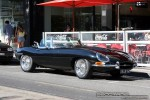Exotic Spotting in Melbourne: Jaguar E-Type - front right (South Yarra, Vic, 15 Feb 09)