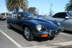 Series   Exotic Spotting in Melbourne: Jaguar E-Type Series III - front right 1c (Pt Melbourne, Vic, 23 Nov 08)