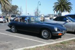 Series   Exotic Spotting in Melbourne: Jaguar E-Type Series III - front right 8a (Pt Melbourne, Vic, 23 Nov 08)