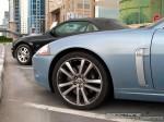 Exotics in Dubai: Jaguar XKR - front left close