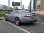 Left   Exotics in Dubai: Jaguar XKR - rear left