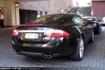 Exotic Spotting in Melbourne: Jaguar XKR - rear right (Southbank, Vic, 3 Sept 09)