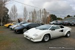 For   Lamborghinis in Daylesford (26 June 09): Lamborghini Countach - front left 2 (Daylesford, Vic, 26 Jun 09)