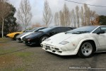 For   Lamborghinis in Daylesford (26 June 09): Lamborghini Countach - front left 3 (Daylesford, Vic, 26 Jun 09)