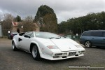 Ford   Lamborghinis in Daylesford (26 June 09): Lamborghini Countach S - front right 2B (Daylesford, Vic, 26 Jun 09)