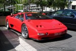 Exotic Spotting in Melbourne: Lamborghini Diablo [Strosek Tuning] - front  right 1 (Crown Casino, Victoria, Australia)