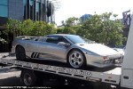 Lambo   Exotic Spotting in Melbourne: Lamborghini Diablo VT Roadster - front right (Southbank, Vic, 3 Sept 09)