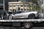 Exotic Spotting in Melbourne: Lamborghini Diablo VT Roadster - profile left (Southbank, Vic, 3 Sept 09)