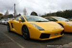 For   Lamborghinis in Daylesford (26 June 09): Lamborghini Gallardo (yellow) - front right 1 (Daylesford, Vic, 26 Jun 09)