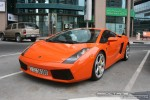On   Exotics in Dubai: Lamborghini Gallardo - A front left 1