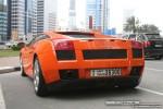 Exotics in Dubai: Lamborghini Gallardo - A rear left