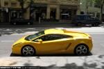 Lamborghini   Exotic Spotting in Melbourne: Lamborghini Gallardo -  profile left (Melbourne, Vic, 20 Oct 09)