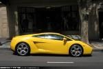 Melbourne   Exotic Spotting in Melbourne: Lamborghini Gallardo -  profile right (Melbourne, Vic, 20 Oct 09)