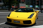 Exotics on Victoria's Surf Coast: Lamborghini Gallardo - front left 1 (Lorne, Vic 7 Feb 2010)