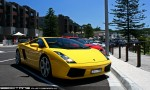 Exotics on Victoria's Surf Coast: Lamborghini Gallardo - front right 1 (Lorne, Vic 7 Feb 2010)