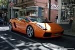 Right   Exotic Spotting in Melbourne: Lamborghini Gallardo - front right 3 (Melbourne, Vic, 5 Oct 08)