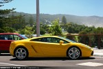 Lambo   Exotics on Victoria's Surf Coast: Lamborghini Gallardo - profile right 1 (Lorne, Vic 7 Feb 2010)