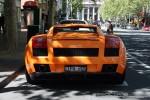 Exotic Spotting in Melbourne: Lamborghini Gallardo - rear 1 (Melbourne, Vic, 5 Oct 08)