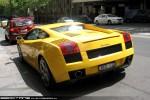 Lamborghini   Exotic Spotting in Melbourne: Lamborghini Gallardo - rear left 1 (Melbourne, Vic, 20 Oct 09)
