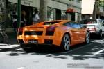 Lamborghini   Exotic Spotting in Melbourne: Lamborghini Gallardo - rear right 1 (Melbourne, Vic, 5 Oct 08)