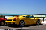 Lamborghini   Exotics on Victoria's Surf Coast: Lamborghini Gallardo - rear right 2 (Lorne, Vic 7 Feb 2010)