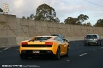 Right   Exotic Spotting in Melbourne: Lamborghini Gallardo LP550-2 Valentino Balboni - rear right 2 (Monash Fwy, Vic, 16 Aug 2010)