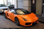Feb   Exotic Spotting in Melbourne: Lamborghini Gallardo LP560-4 Spyder - front right 3 (Melbourne, Vic, 17 Feb 09)