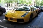 Left   Exotic Spotting in Melbourne: Lamborghini Gallardo SE - front left 1 (Melbourne, Vic, 25 Nov 08)