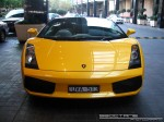 Victoria   Exotic Spotting in Melbourne: Lamborghini Gallardo Spider - front 3 (Crown Casino, Melbourne, Victoria, 30 May 08)