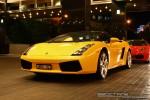 In   Exotic Spotting in Melbourne: Lamborghini Gallardo Spider - front left 2 (Crown Casino, Victoria, 27 Feb 09)