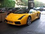 As   Exotic Spotting in Melbourne: Lamborghini Gallardo Spider - front left 3 (Crown Casino, Melbourne, Victoria, 30 May 08)