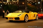 Lamborghini   Exotic Spotting in Melbourne: Lamborghini Gallardo Spider - front left 3 (Crown Casino, Victoria, 27 Feb 09)
