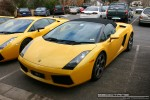 For   Lamborghinis in Daylesford (26 June 09): Lamborghini Gallardo Spider - front left 4 (Daylesford, Vic, 26 Jun 09)