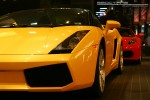 Feb   Exotic Spotting in Melbourne: Lamborghini Gallardo Spider - front left close (Crown Casino, Victoria, 27 Feb 09)a