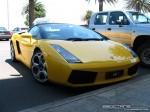 Melbourne   Exotic Spotting in Melbourne: Lamborghini Gallardo Spider - front right (Port Melbourne, Vic, 23 Jan 08)